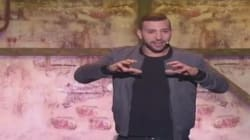 L'acteur et humoriste tunisien Nidhal Saadi enflamme la scène du Jamel Comedy Club Maroc