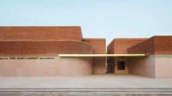 PHOTOS - Découvrez le musée Yves-Saint Laurent à Marrakech avant son