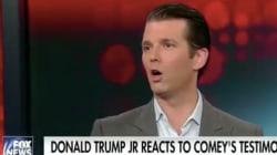 Donald Trump Jr. voulait défendre son père face aux déclarations de l'ex-chef du FBI... mais le contredit