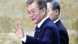 문대통령 '2030 월드컵 북한 포함 동북아 공동 개최