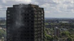 런던 아파트 화재 대피 후 시험을 보러간