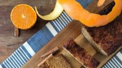 Συνταγή για κέικ καρότο με σιρόπι από πορτοκάλι, χωρίς