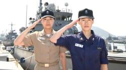 1945년 해군 창설 후 '최초의 여군