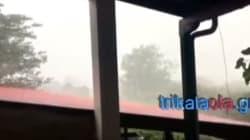 Ανεμοστρόβιλος στα Τρίκαλα
