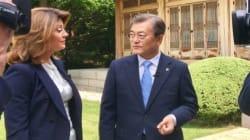 문대통령 '대선 기간 한미연합훈련 축소 언급한 적