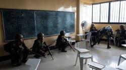Ελεύθεροι οι μαθητές δημοτικού σχολείου που κρατούνταν όμηροι ανταρτών στις