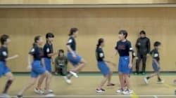 기네스북에 오른 일본 초등학생들의 단체 줄넘기