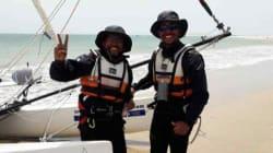 Tour du Maroc à la voile: les deux skippers bouclent leur défi en 24