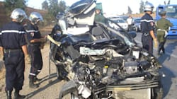 Accidents de la route: 32 morts et 962 blessées durant les 25 premiers jours du mois de