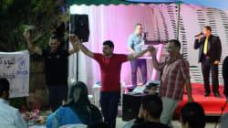 En attendant d'avoir leurs droits, les réfugiés fêtent