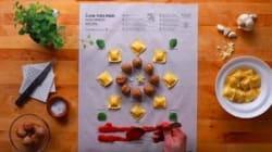 Ikea lance un livre de recettes en feuilles