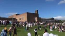 Newcastle: Une voiture fonce sur des piétons célébrant la fin du