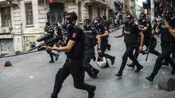 Χρήση πλαστικών σφαιρών από την τουρκική αστυνομία στο Gay