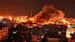 Bombardements israéliens sur la bande de