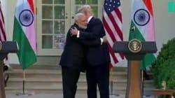 Le Premier ministre indien a trouvé comment échapper aux poignées de main de Donald