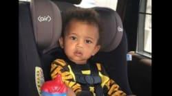 Cette photo du siège auto de son fils Saint vaut à Kim Kardashian de vives
