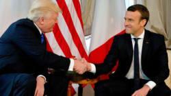 Donald Trump a accepté la proposition d'Emmanuel Macron d'être présent au défilé du 14