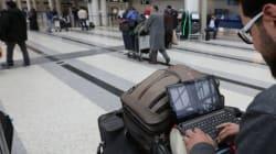 Vols vers les Etats-Unis: pas d'interdiction des