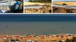 A Aïn Taya, de belles plages noyées par des eaux usées et déchets