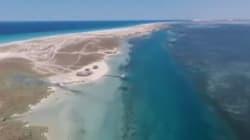 Ces plages sauvages de Djerba filmées par un drone donnent un résultat somptueux