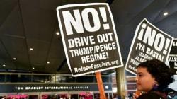 La nouvelle version du décret anti-immigration de Trump met en alerte les avocats et militants dans les aéroports