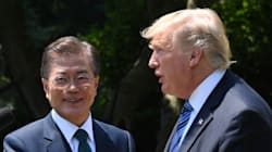 문재인, 트럼프가 북한에 대한 입장을 함께