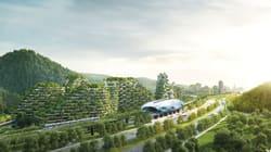 Η Κίνα φτιάχνει την πρώτη πόλη-δάσος για να αντιμετωπίσει την ατμοσφαιρική