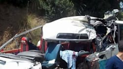 19 blessés dans une collision entre un bus et un camion à
