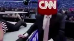 Donald Trump partage sur Twitter une vidéo de lui qui moleste