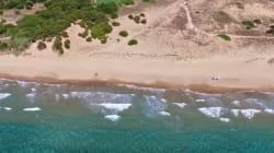 H «Χρυσή Ακτή» της Κυλλήνης: Ένας άγνωστος παράδεισος 6 χλμ με χρυσή αμμουδιά και ρηχά