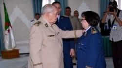 Boudouani Fatma, première femme Général-Major chez l'armée