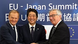 Κατ' αρχήν συμφωνία ΕΕ-Ιαπωνίας για ελεύθερο εμπόριο. Ηχηρό μήνυμα σε Τραμπ πριν την