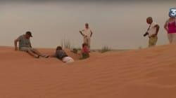 France 3 suit des touristes français dans le désert tunisien pour souligner le retour à l'embellie du tourisme en