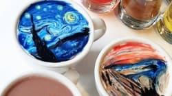 Ce Barista coréen transforme votre café latte en œuvre