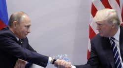 Σε θερμό κλίμα η πρώτη συνάντηση Τραμπ και Πούτιν. Συμφώνησαν για εκεχειρία στη