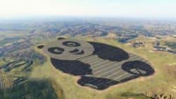 Vous n'avez jamais vu une centrale solaire aussi