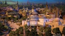 Disney dévoile les premières maquettes de Star Wars Land, censées s'inspirer du