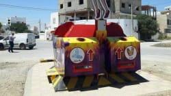 Tunisie: La première poubelle fonctionnant à l'énergie solaire est en place à la