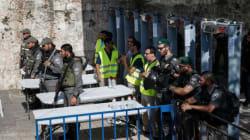 Esplanade des Mosquées: les fidèles refusent de passer par les détecteurs de