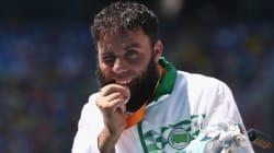 Handisport/Mondiaux 2017: l'athlète Mohamed Berrahal récupère la médaille