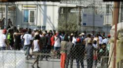 Συγκρούσεις στη Μόρια μεταξύ μεταναστών και