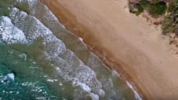 «Δροσιστικές» εικόνες από την Χρυσή Ακτή της
