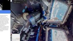 Visitez la Station spatiale internationale sur Google Street