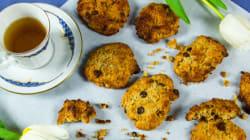 Μαλακά μπισκότα με κομματάκια