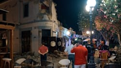 Η στιγμή που οι πυροσβέστες εντοπίζουν τα θύματα στα συντρίμμια του μπαρ που