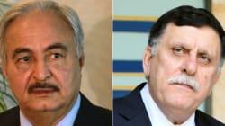 Libye: Macron réunit Sarraj et Haftar mardi près de