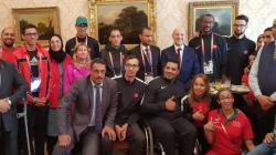 Londres: Aboudrar reçoit la sélection marocaine 5 fois médaillée
