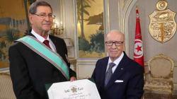 À l'occasion de la fête de la République: Habib Essid décoré de l'Ordre de la République