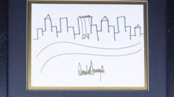 Ένα σκίτσο του Donald Trump βγαίνει σε δημοπρασία. Ναι, καλά