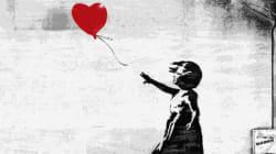 Ένα γκράφιτι του Banksy είναι το πιο αγαπημένο έργο των Βρετανών, αφήνοντας πίσω του ιστορικά έργα